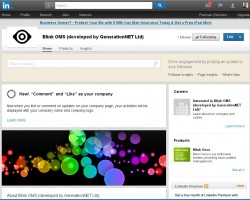 New Linked In Company Page setup